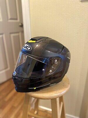 HJC RPHA 70 Isle Of Man Mens Street Motorcycle Helmet Large MC-1