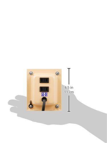 NISSYO transformer NDF series voltage Converter down 120V 100V1500W NDF-1500U