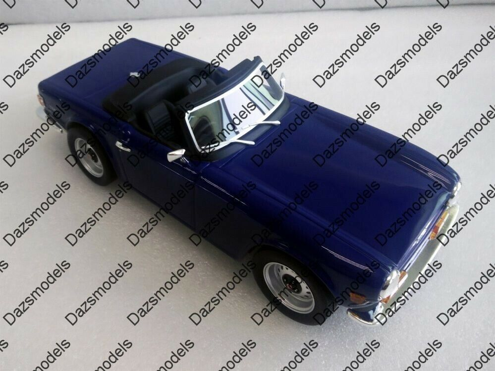 Ls collection triumph TR6 bleu 1 18 LS002B LTD1000