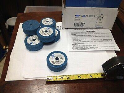 """77696076164 Med Grit Norton Vortex-7AM 2/"""" X 3//4/"""" X 1//4/"""" Unified Wheel"""