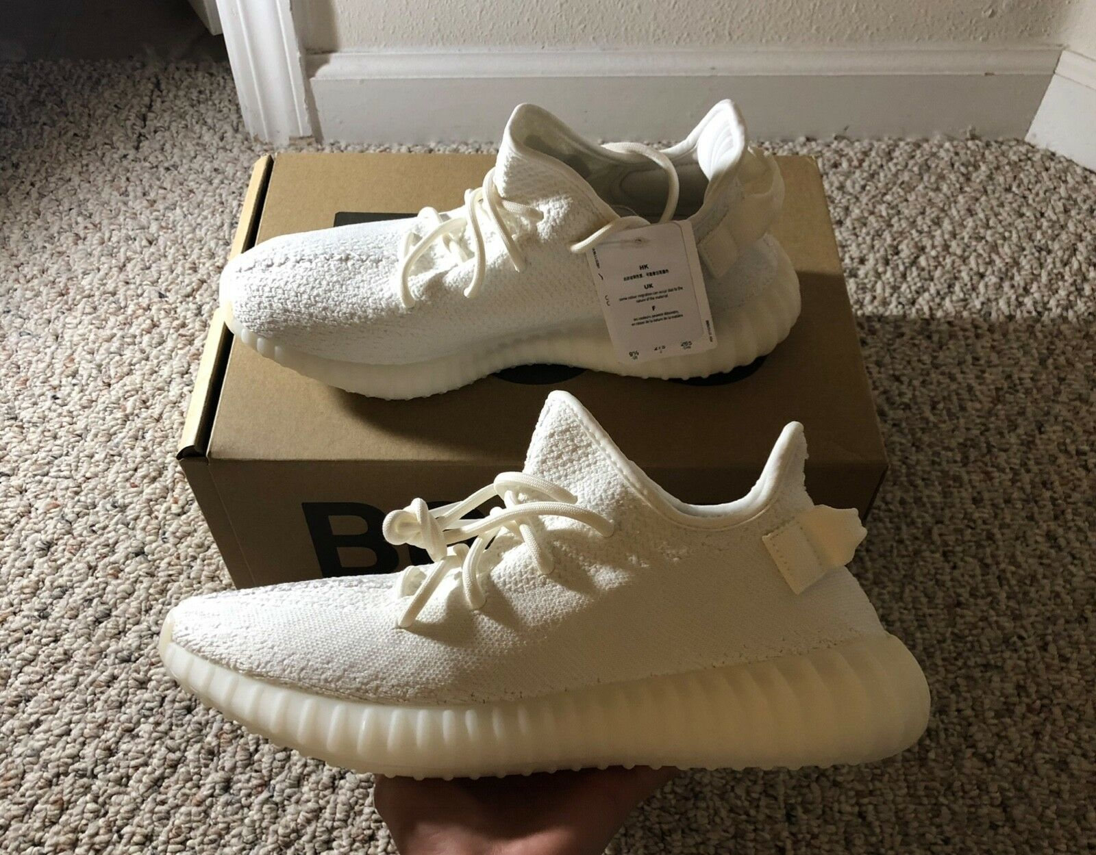 NEW Yeezy Yeezy Yeezy Boost 350 V2 Triple White ea3771