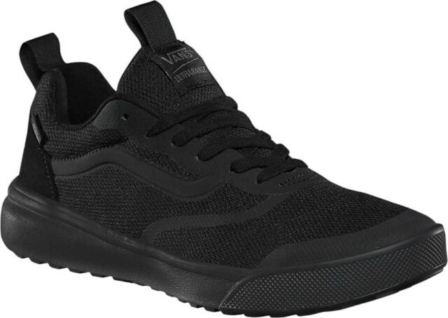Vans UltraRange Rapidweld Sneaker (Men's Women's Shoes) in BlackBlack Mesh