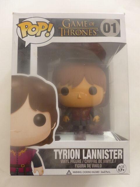 "Game of Thrones Tyrion Lannister 3.75/"" POP Vinyl Figure FUNKO Edition 7 nouveau"