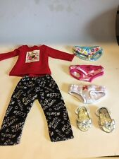 Justice And Sophia's 18 Inch  Used Lot Doll Clothes Free Ship No Dolls  Selfie