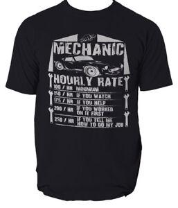 Las-tasas-de-horas-para-Hombre-Divertido-Camiseta-Regalo-Para-Mecanico-Fontanero-Electricista