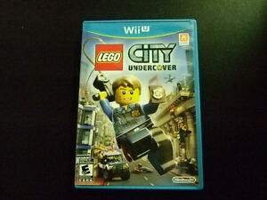 Replacement case no game lego city undercover nintendo wii u for Case lego city