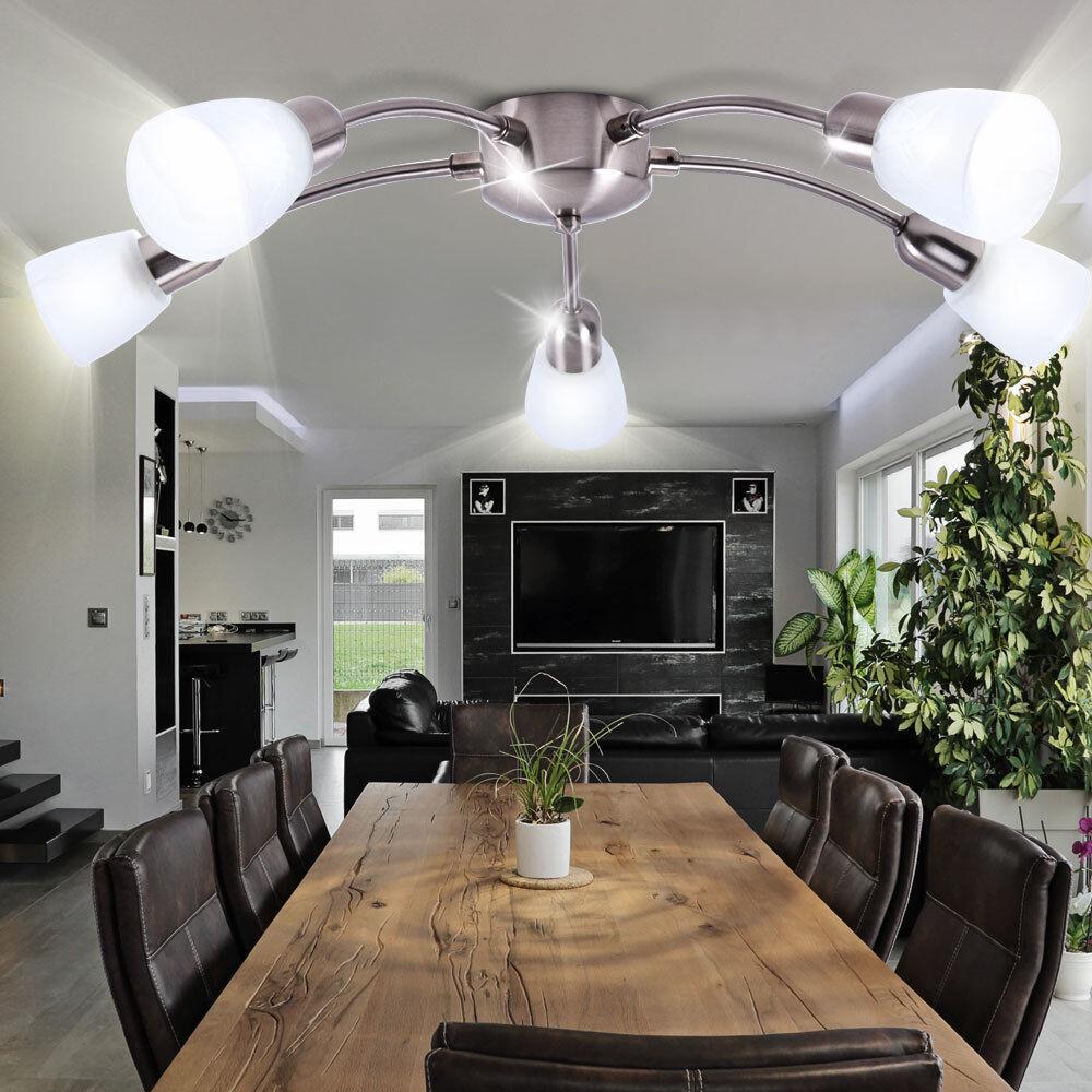 Techos de alta calidad lámpara lámpara de vidrio blanco iluminación emisor lámpara lámpara luz Brilliant c4ca2a