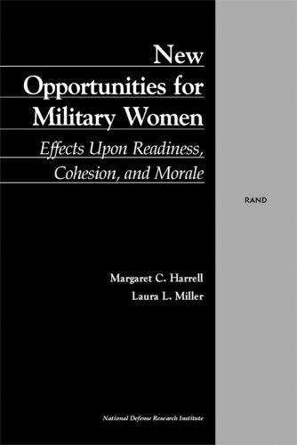 New Opportunities for Military Women  Effects Upon Readiness  Cohesio