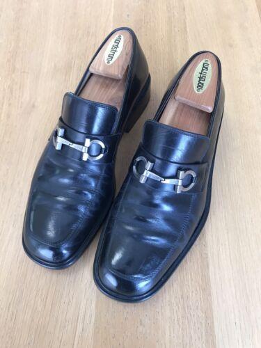 ferragamo Men Shoes US Size 8 Black