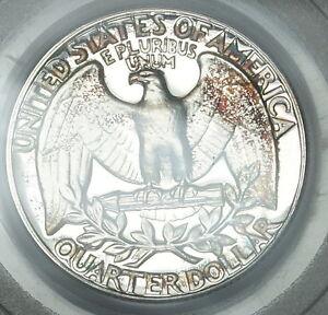 1954-Washington-Silver-Quarter-PCGS-PR-66-CAM-Toned-Gem-Cameo-Proof-Coin