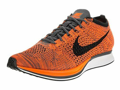 size 40 c6288 e4e7a ... discount nike flyknit racer unisex trainer total 526628 us 7.5 total  trainer orange white dark grey