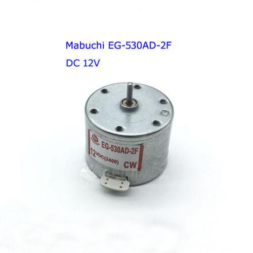 Mabuchi EG-530AD-2F Audio moteur pour dérouleur de bande DC 12 V CW Cabestan Motor audiomotor