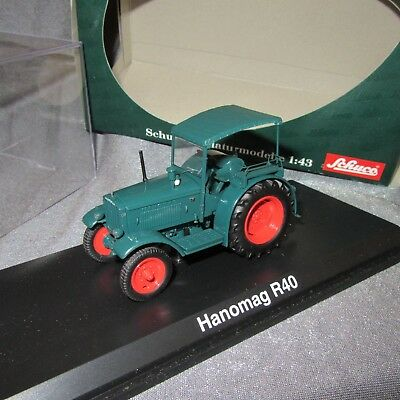 1:43 Schuco Hanomag R 40 with convertible top Green//red