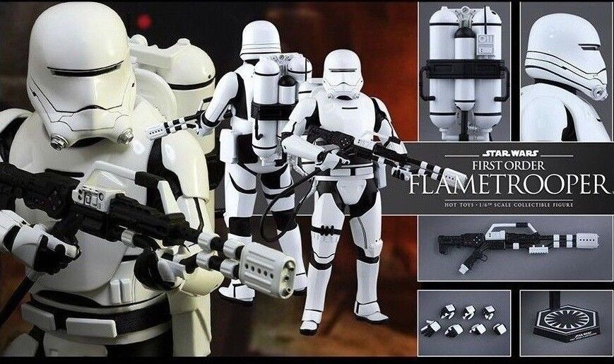 Hot Toys 1/6 Star Wars VII The Force Awakens First Order Flametrooper MMS326