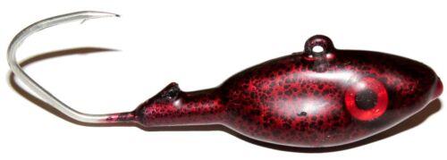 Dorschbombe 75 Gramm Leopardmuster Selbstleuchtend Gummiert