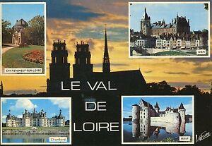 Alte Postkarte - Le Val de Loire