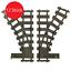 Indexbild 1 - 4 / 12 Stk. Weichen Gleise Eisenbahn Zug (kompatibel zu Lego 60198,60197,60205)
