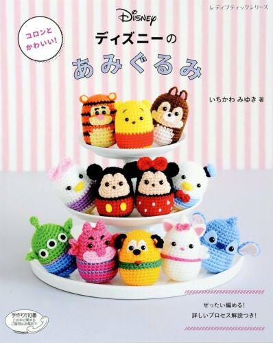 DISNEY Tsum Tsum Amigurumi caractères-Japanese Craft Book Japan