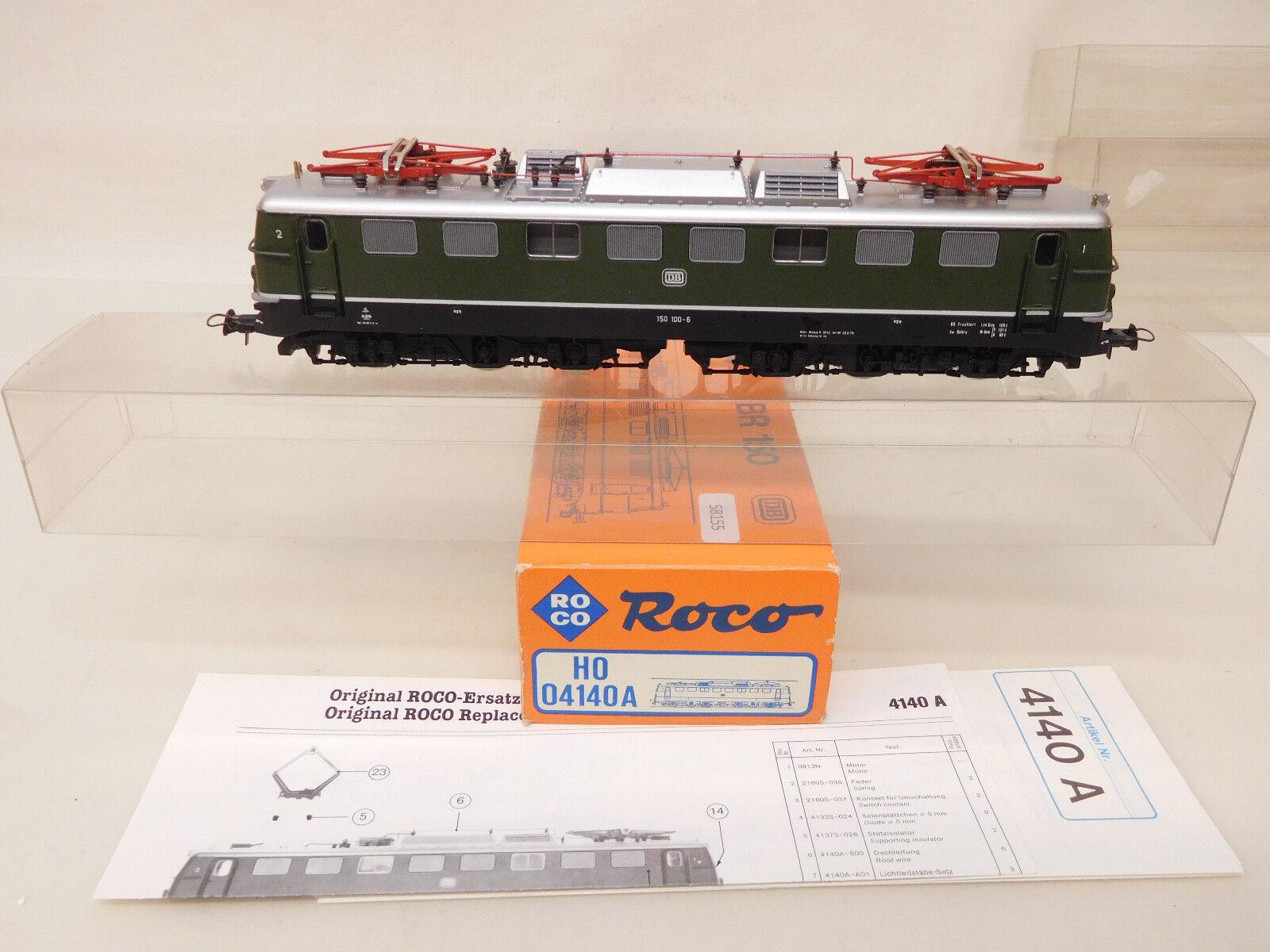 Mes-58155 ROCO 04140 a h0 E-Lok DB 150 100-6 ottime condizioni, esaminato funzione