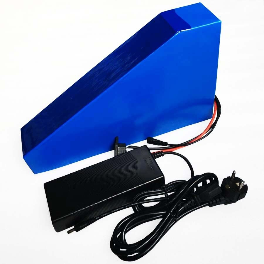 51.8V 20AH battery Triangle Li-ion 52V Lithium Akku 3A Charger BMS fr 1000 motor