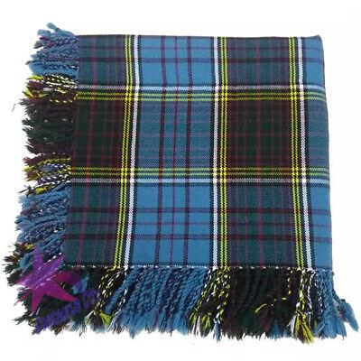 """Men's Kilt Fly Plaid Royal Stewart Tartan//royal stewart Kilt Fly Plaids 48/""""X 48/"""""""