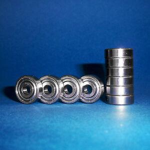 10 Kugellager 623 ZZ / 3 x 10 x 4 mm