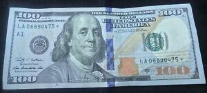 Mint-100-DOLLAR-BILL-STAR-US-Federal-Reserve-NOTE-SERIES-2009A-LA08890475
