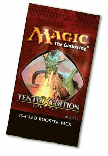 Booster Packs Free Box Option! Tenth X Core Edition MTG Magic the Gathering