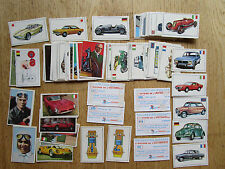 Panini L´histoire de l´automobile, storia dell´automobile, 95 used cards/sticker
