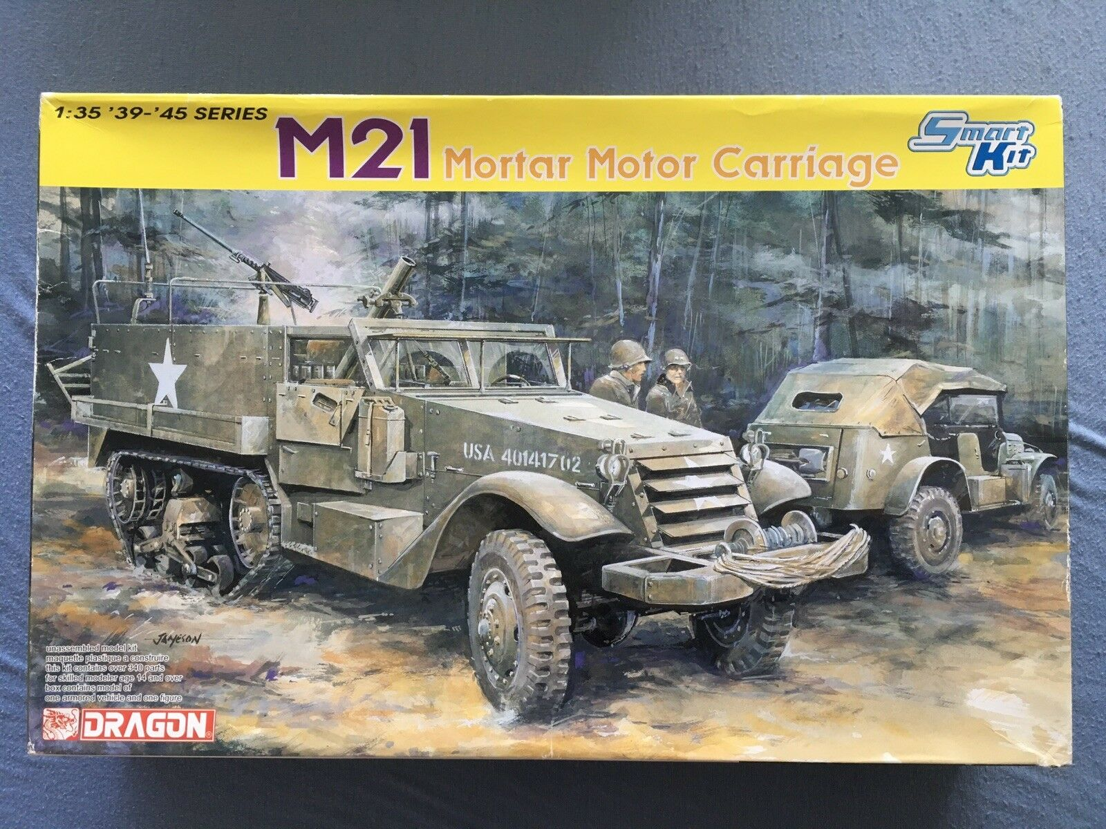 1 35 Dragon M21 Mortal Motor Carriage. 6362