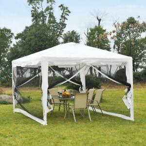 10x13 Gazebo Party Tent w/ Mesh Sidewalls Outdoor Garden Sun Shade / Tent for sale brand new in box Toronto (GTA) Preview