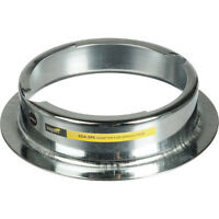 Impact Beauty Dish Adapter For Speedotron Black, Speedotron Brown M11 Flash Head