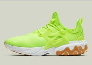 Details about Nike React Presto Volt Gum White AV2605-702 Running Shoes  Men's Multi Size NEW