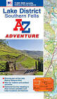 Lake District (Southern Fells) Adventure Atlas by Geographers' A-Z Map Company (Paperback, 2012)