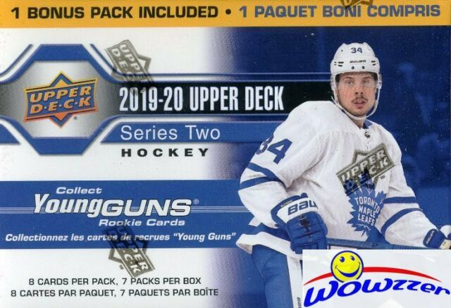 2019/20 Upper Deck Series 2 Hockey HUGE Factory Sealed Blaster Box-YOUNG GUN RC