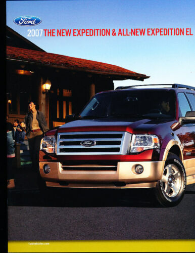2007 Ford Expediton Deluxe Sales Brochure Catalog