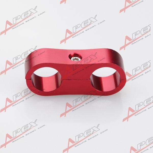 -10 AN - 10 AN10 10AN Billet Fuel Hose Red Hose Separator Fitting Adapter Red