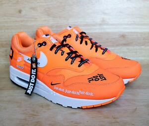 Detalles acerca de Nike 1 SE JDI Just Air Max Total Naranja Blanco Negro Do It AO1021 800 Multi Tamaño mostrar título original
