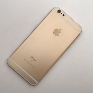 huge discount 40c73 fd9e3 Details about Gold For Apple iPhone 6S Plus 5.5 6th Gen Model A1687 Back  Cover Rear Housing