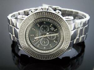 New-Don-amp-Co-5-50CT-Full-case-Diamondd-50MM-Stainless-steel-Watch