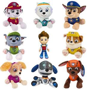 Hot-Paw-Patrol-Pup-Pals-8-034-Skye-Zuma-Rocky-Marshall-Kids-Gift-Soft-Plush-Toy-Dog