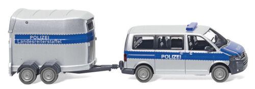 Wiking 030807-1//87 policía-VW t5 gp Multivan-nuevo