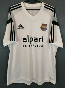 MEN'S ADIDAS FC WEST HAM UNITED 2013 SOCCER FOOTBALL SHIRT ...
