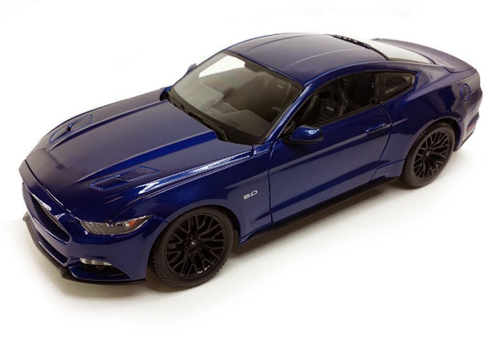 Maisto 1 18 2015 Ford Mustang GT 5.0 Diecast Model Car bluee (31197)