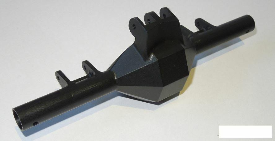 Diamond asse posteriore SCX10 Nero collegamento integrato supporti integrati SSD00069 SSD