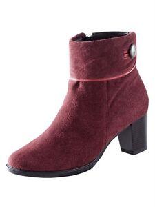 Wildleder Stiefelette Bordeaux 5 6 Gr G Schuhe W Stiefel 40 HqCZgB