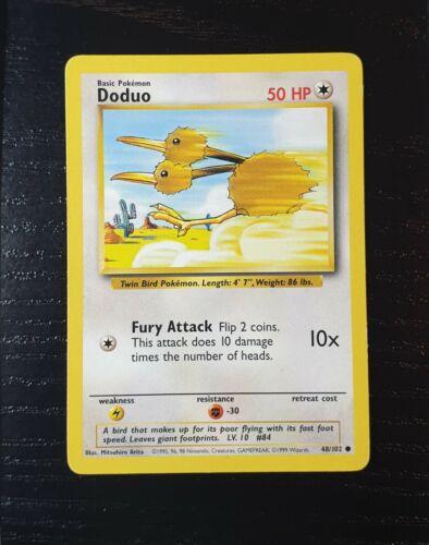 Pokemon Cards Base Set 1 Various Cards WOTC