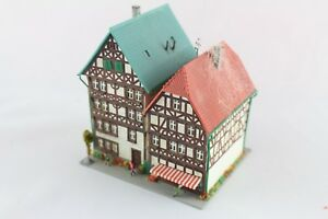Kibri-6404-6820-36404-Timber-Frame-Houses-Fritzlar-with-Figures-Z-Gauge-Top