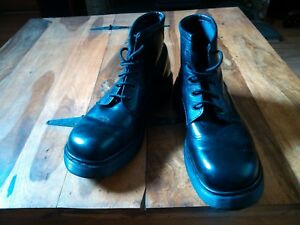 Boots 12 Chunky Unido Martens Vintage Dr Black Reino Rare XTw1qF