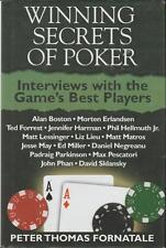 Poker Winning Secrets Tournament Online Card Cash Games Psychology Interviews 06